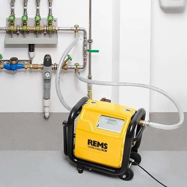 Elektronik temizleme ve basınç kontrol ünitesi, kompresörlü REMS Multi-Push