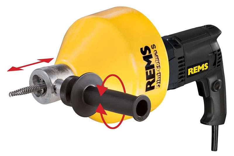 REMS Mini-Cobra S Elektrikli boru temizleme tertibatı