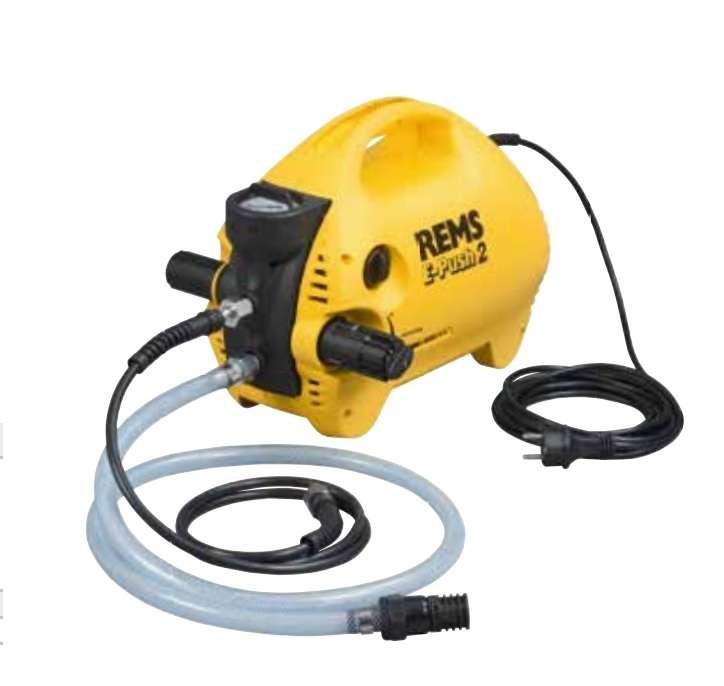 REMS E-Push 2 Elektrikli basınç-test pompası